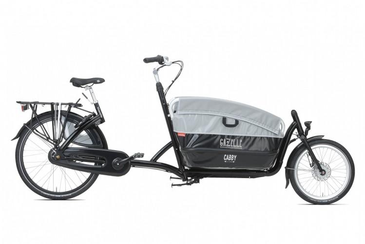 GAZELLE Cabby: das leichte Lastenrad in neuemDesign